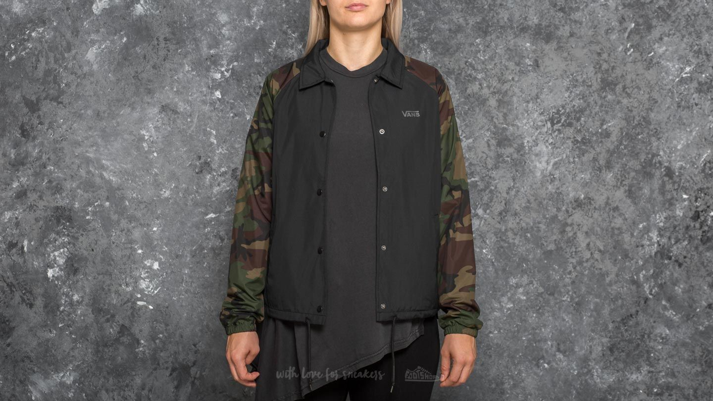 Vans Thanks Coach Jacket Camo Footshop