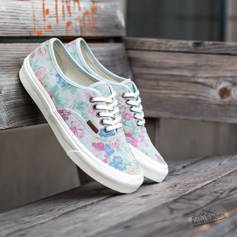 332f81ae7 Vans Authentic Slim (Suede Floral) Marshmallow | Footshop