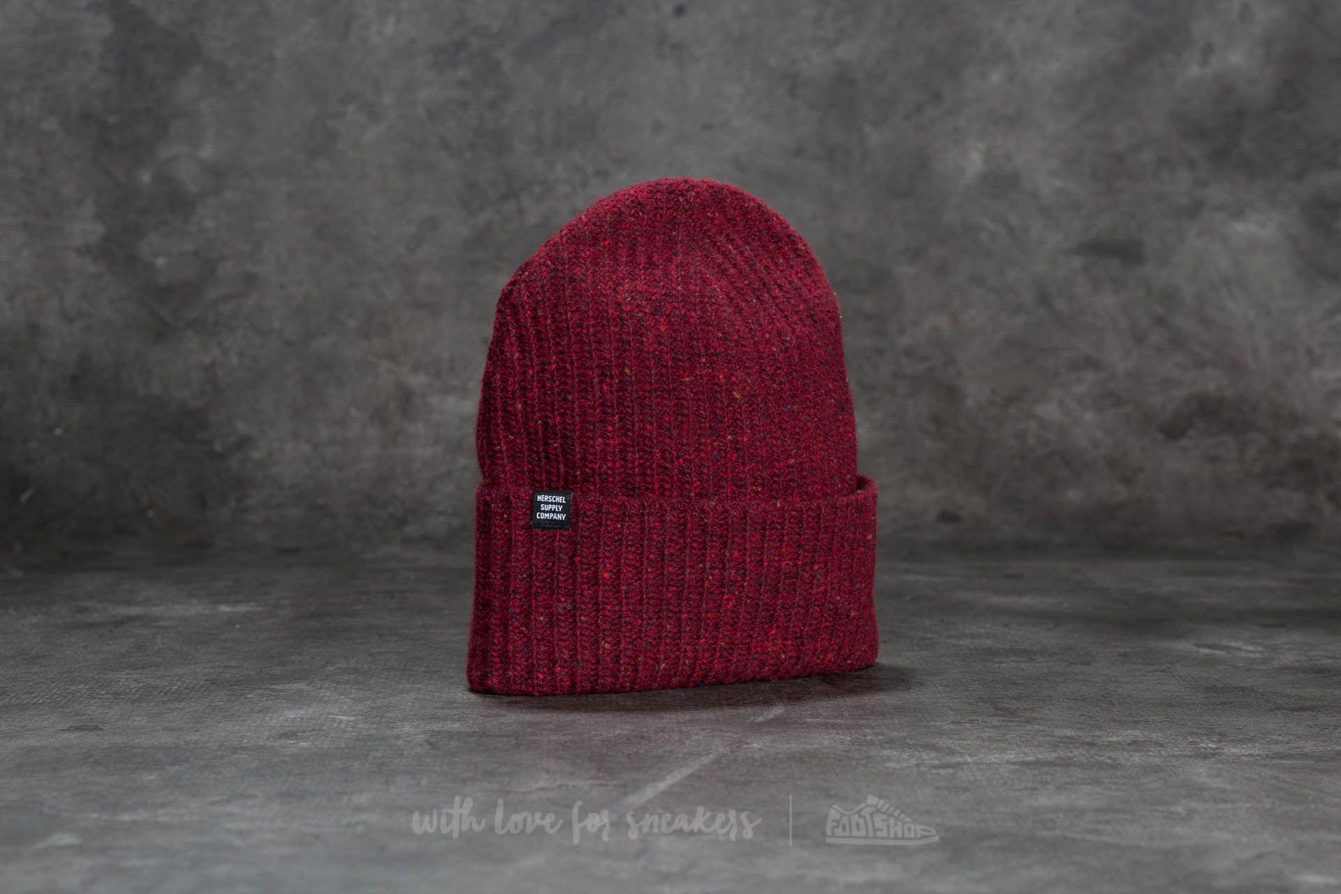 0ba14812dca Herschel Supply Co. Quartz Hat Windsor Wine