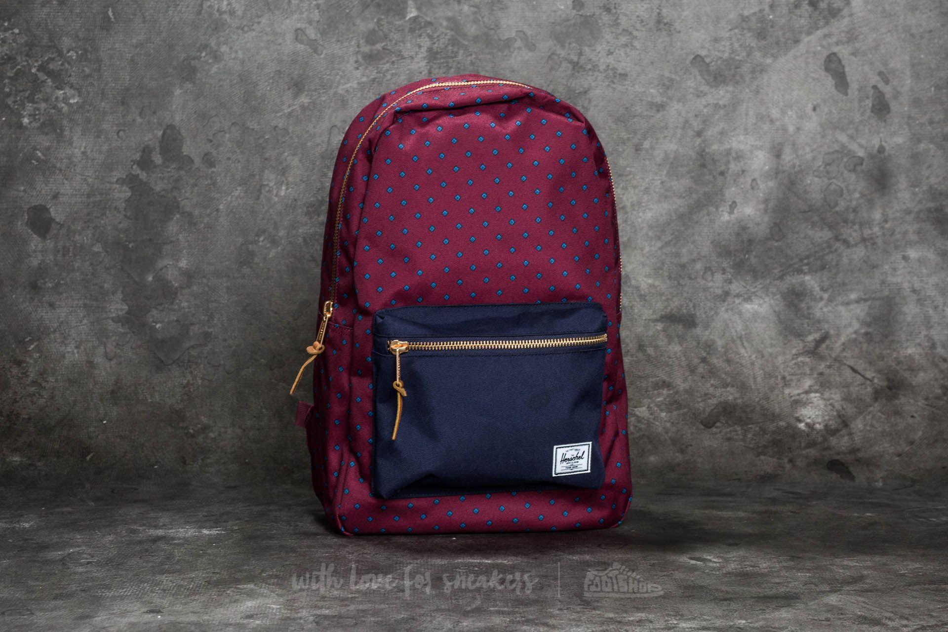 bf067090b1d Herschel Supply Co. Settlement Backpack. University Windsor Wine  Peacoat