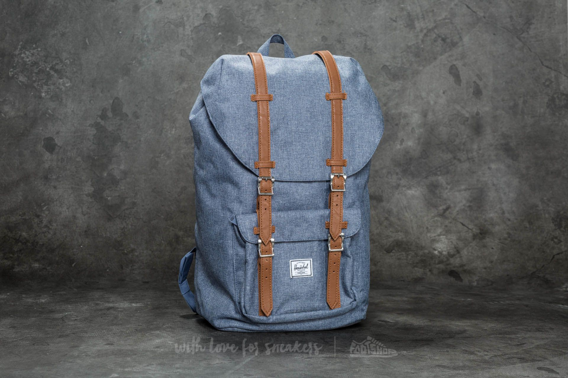 b493a5c165d Herschel Supply Co. Little America Backpack Dark Chambray ...