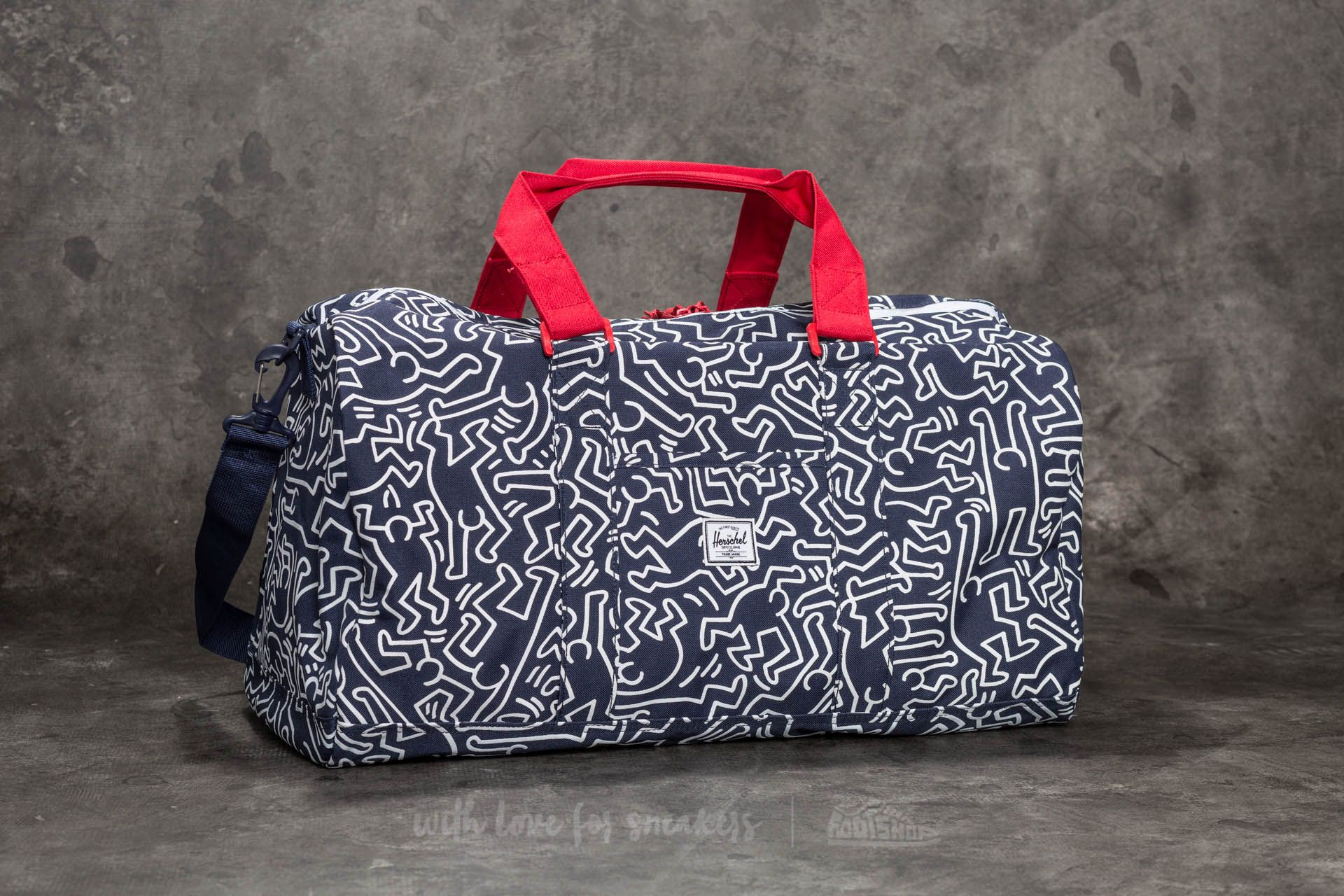 aa1370ef1ec Herschel Supply Co. Lawson Duffle Peacoat Keith Haring