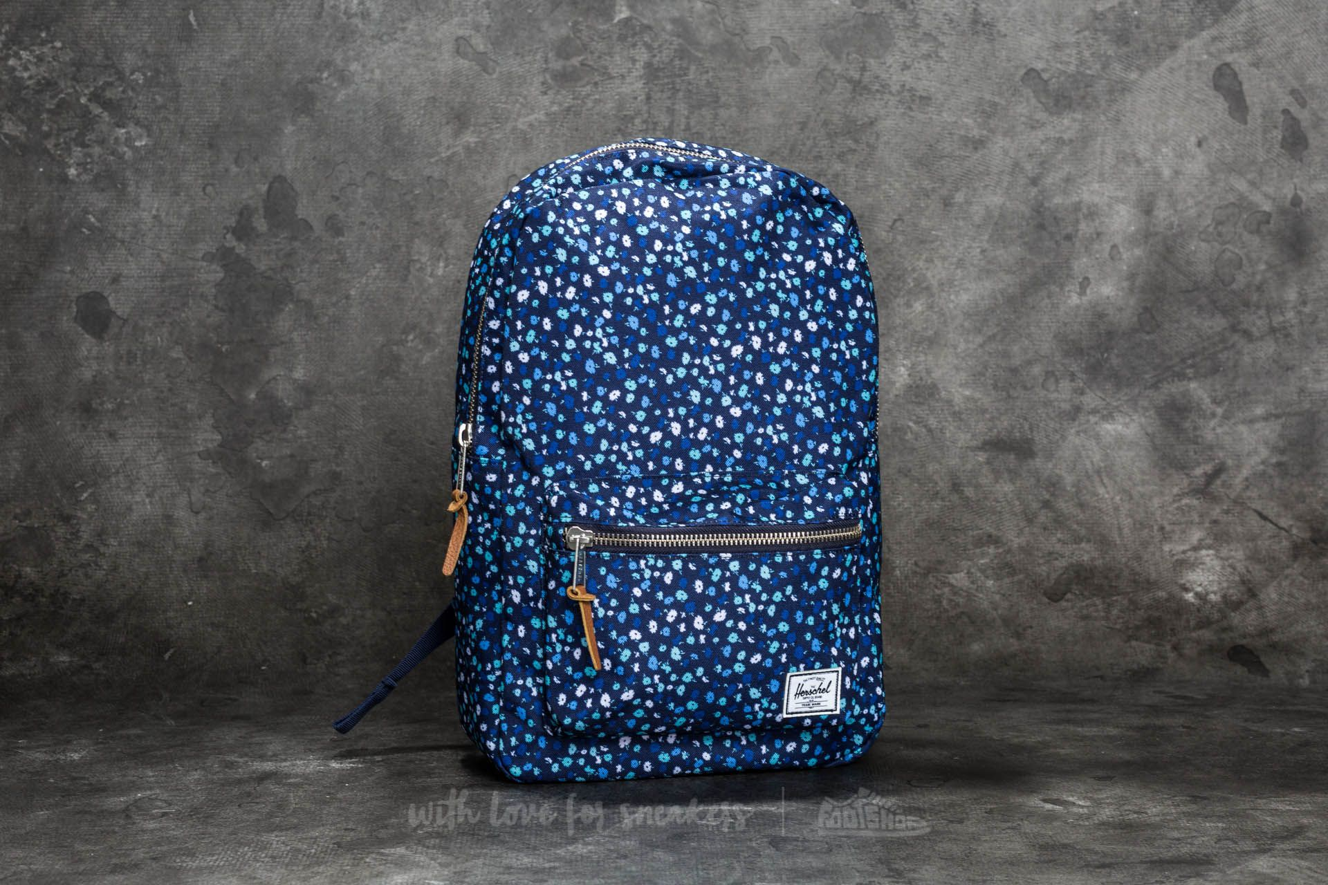a934eb2876b Herschel Supply Co. Settlement Mid-Volume Backpack Peacoat Mini Floral