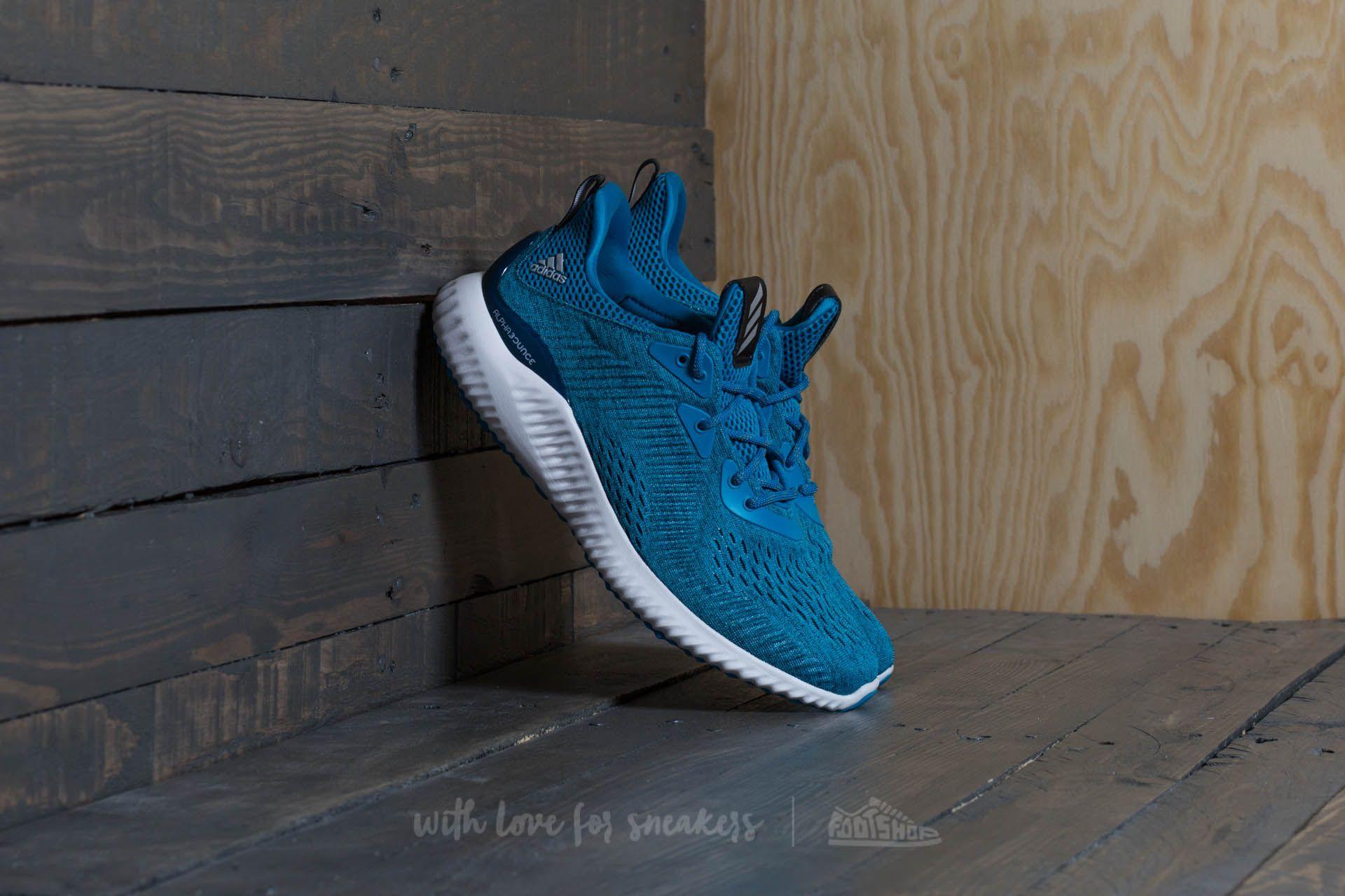 shoes adidas Alphabounce EM M Blue