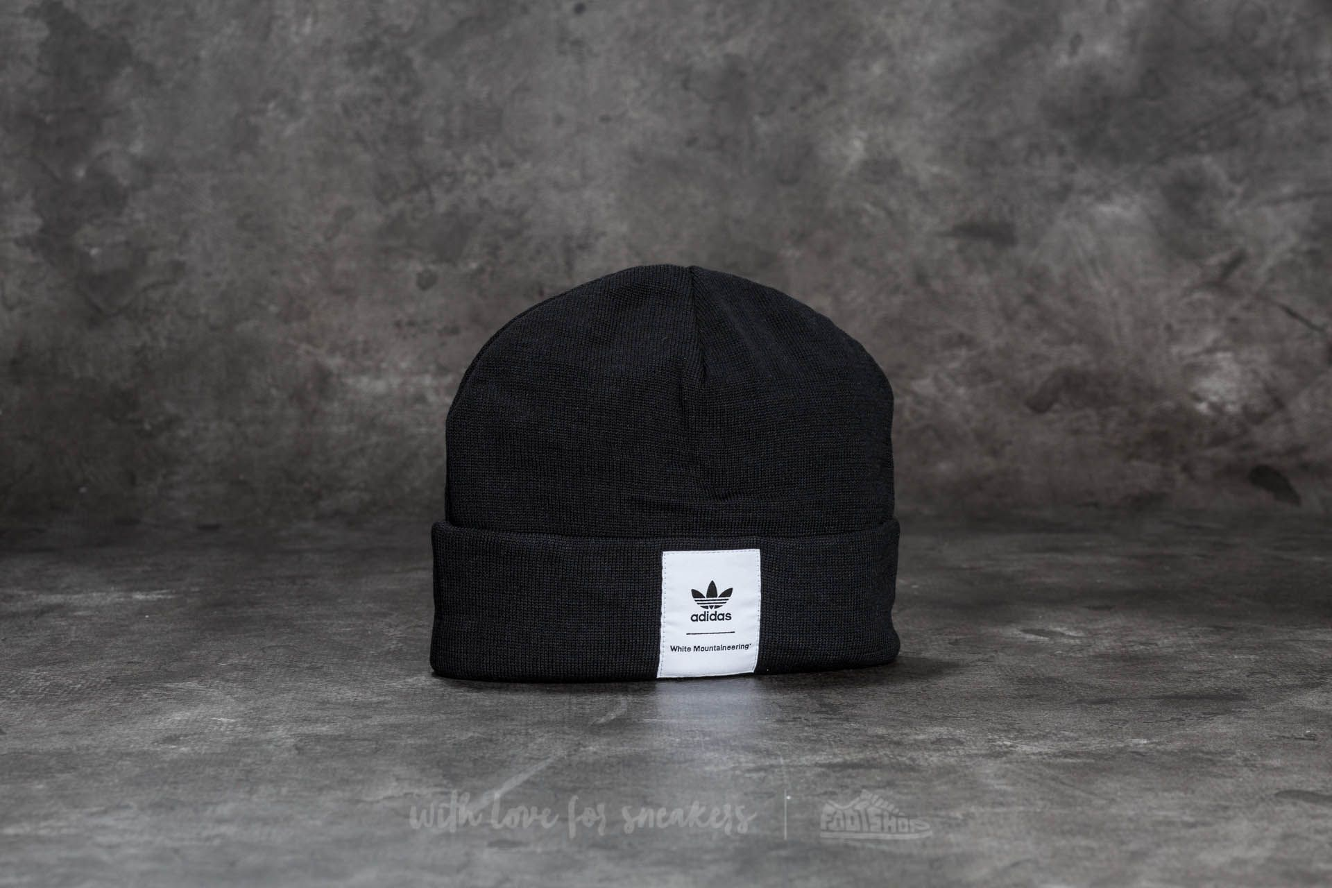 407266794f adidas White Mountaineering Beanie Black
