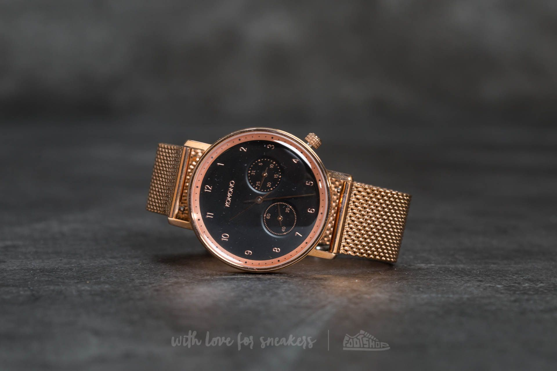 Komono Walther Rose Gold Mesh za skvělou cenu 3 990 Kč koupíte na Footshop.cz