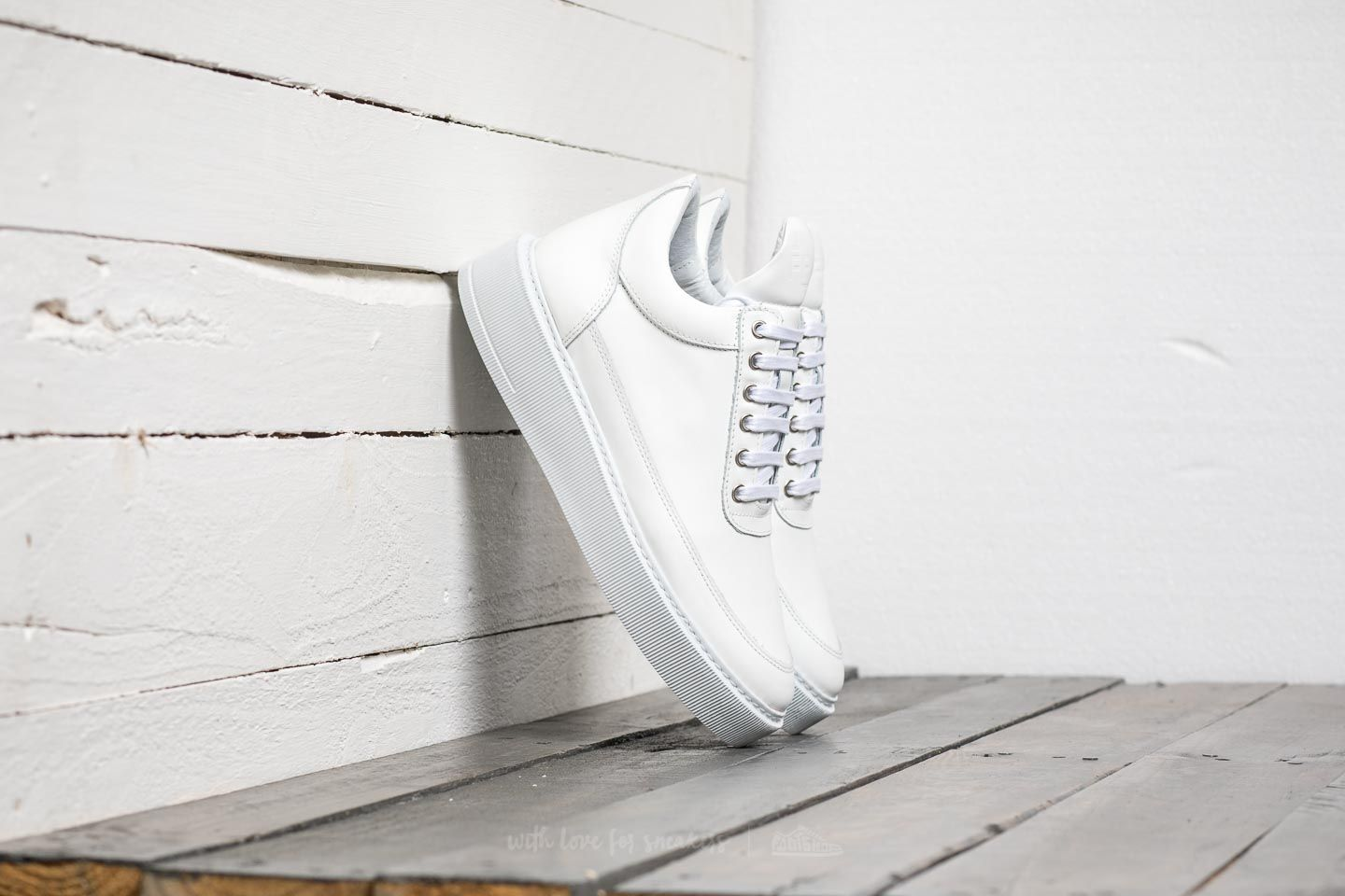 Filling Pieces Low Top Dress Cup All White
