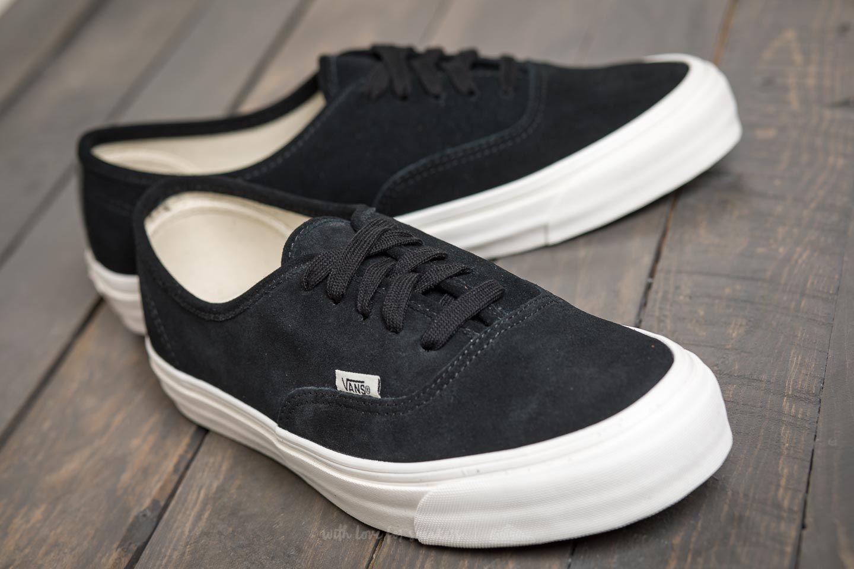 Vans OG Authentic LX (Suede) Black   Footshop