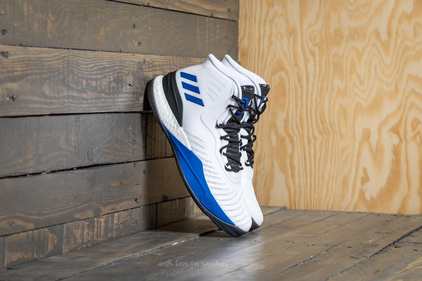 adidas D Rose 8 White  Blue  Black  6dd6b5bf1