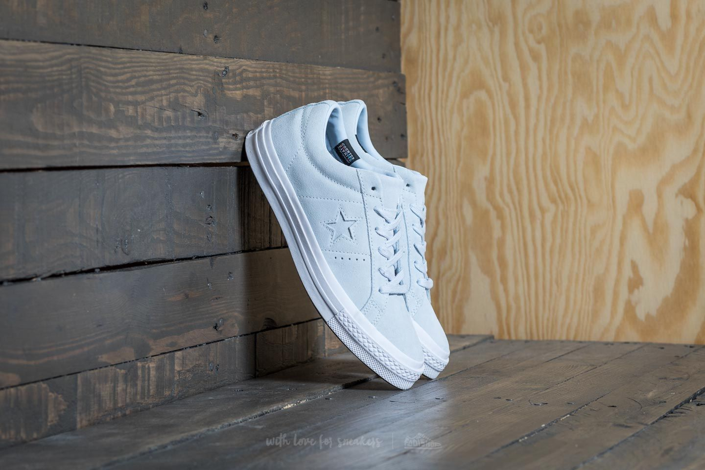 De trato fácil Oblea Independencia  Women's shoes Converse One Star OX Blue Tint/ Blue Tint/ White   Footshop