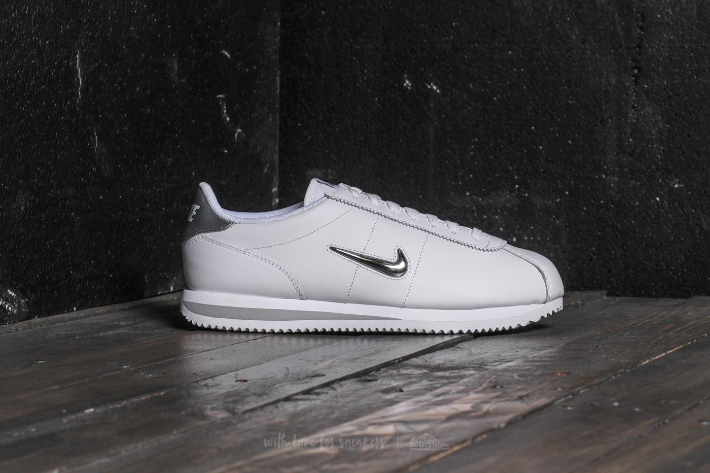 release date: a9ad5 93279 Nike Cortez Basic Jewel White/ Metallic Silver | Footshop