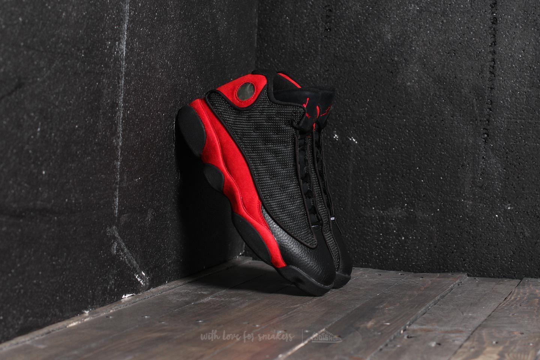 Nike Air Jordan 13 Retro Black  True Red-White  087bd7528