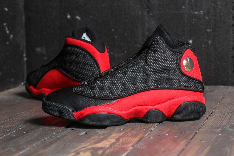 new styles 7a536 dbfe5 Nike Air Jordan 13 Retro Black/ True Red-White | Footshop