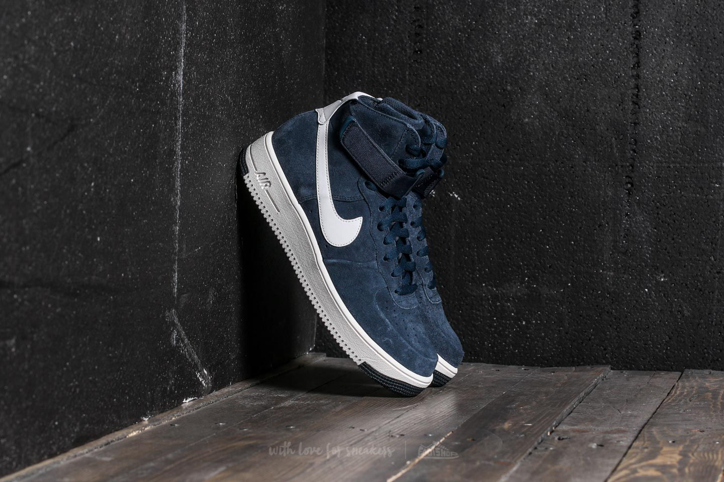 0e021fd22 Nike Air Force 1 Ultraforce Hi Armory Navy/ Summit White | Footshop