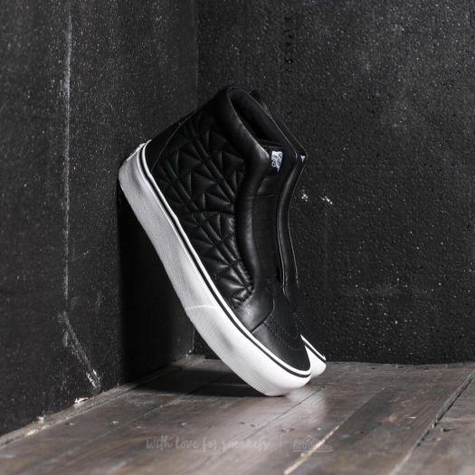 Vans Sk8 Hi Laceless Platform Karl Lagerfeld High Top Leather Fashion Sneaker