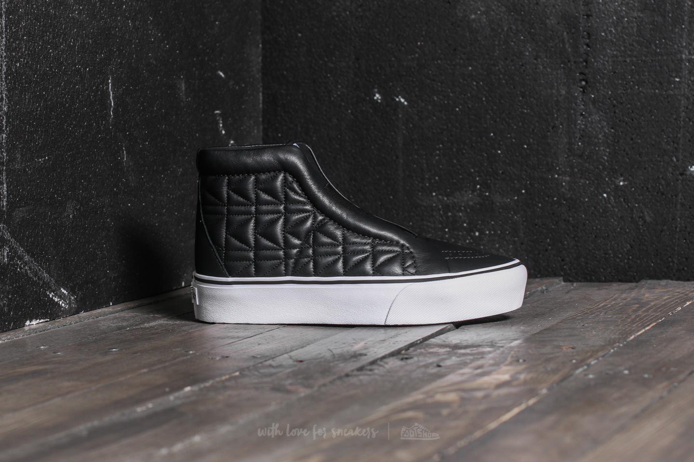 Vans x Karl Lagerfeld Sk8 Hi Laceless Platform Chain K Quilt | Footshop