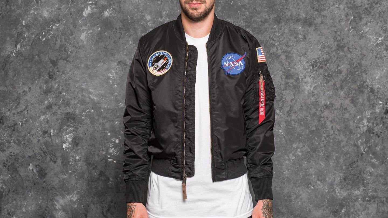 Alpha Industries MA-1 VF NASA Black  7a4403ff17