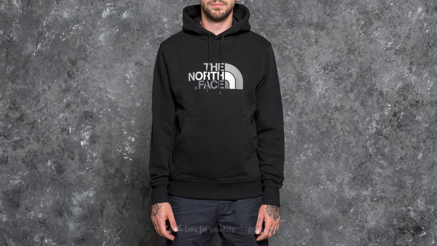 b4250a72 The North Face Drew Peak Pullover Hoodie Tnf Black/ Tnf Black at a great  price