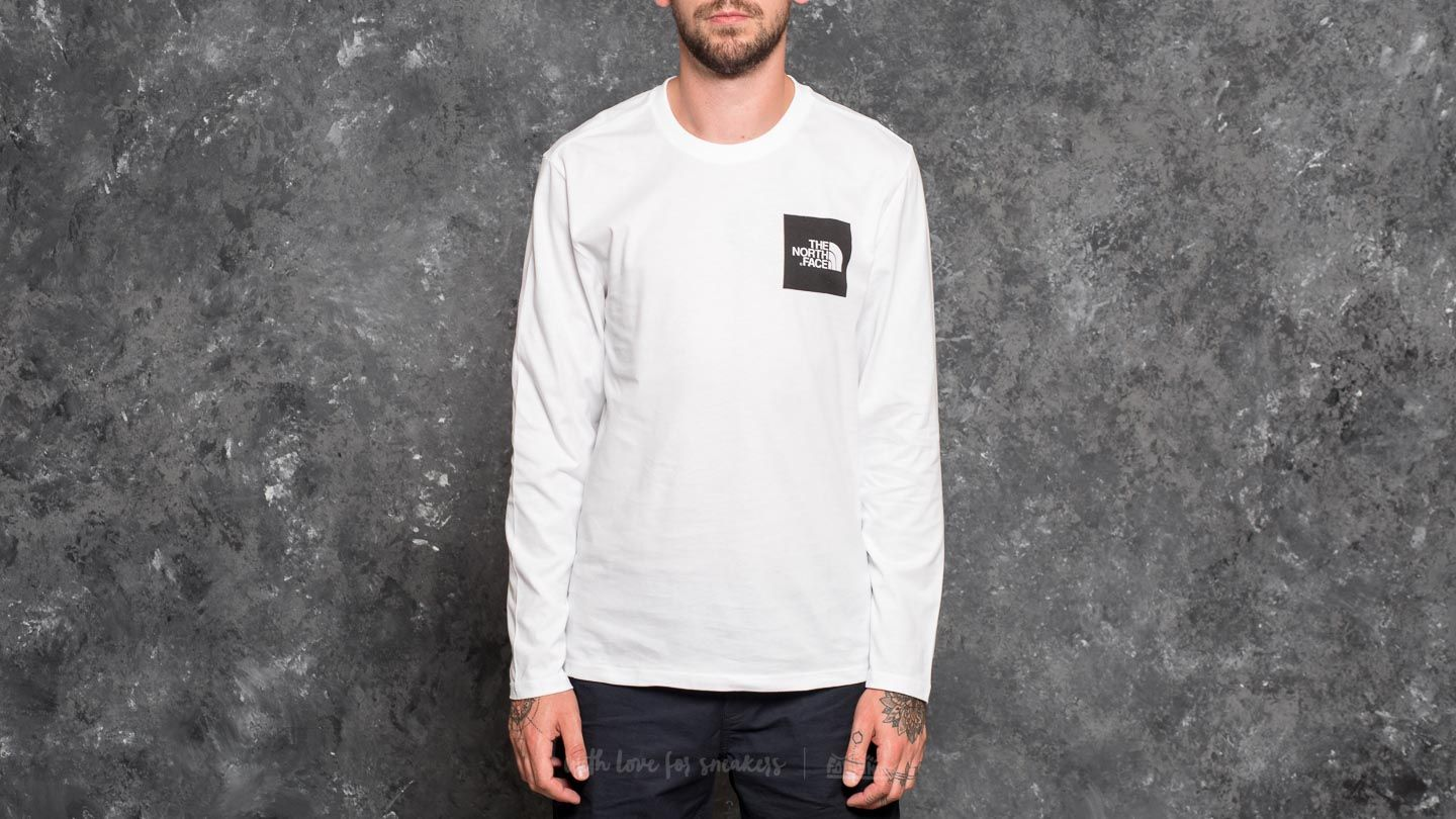 Majice i košulje The North Face Longsleeve Fine Tee Tnf White