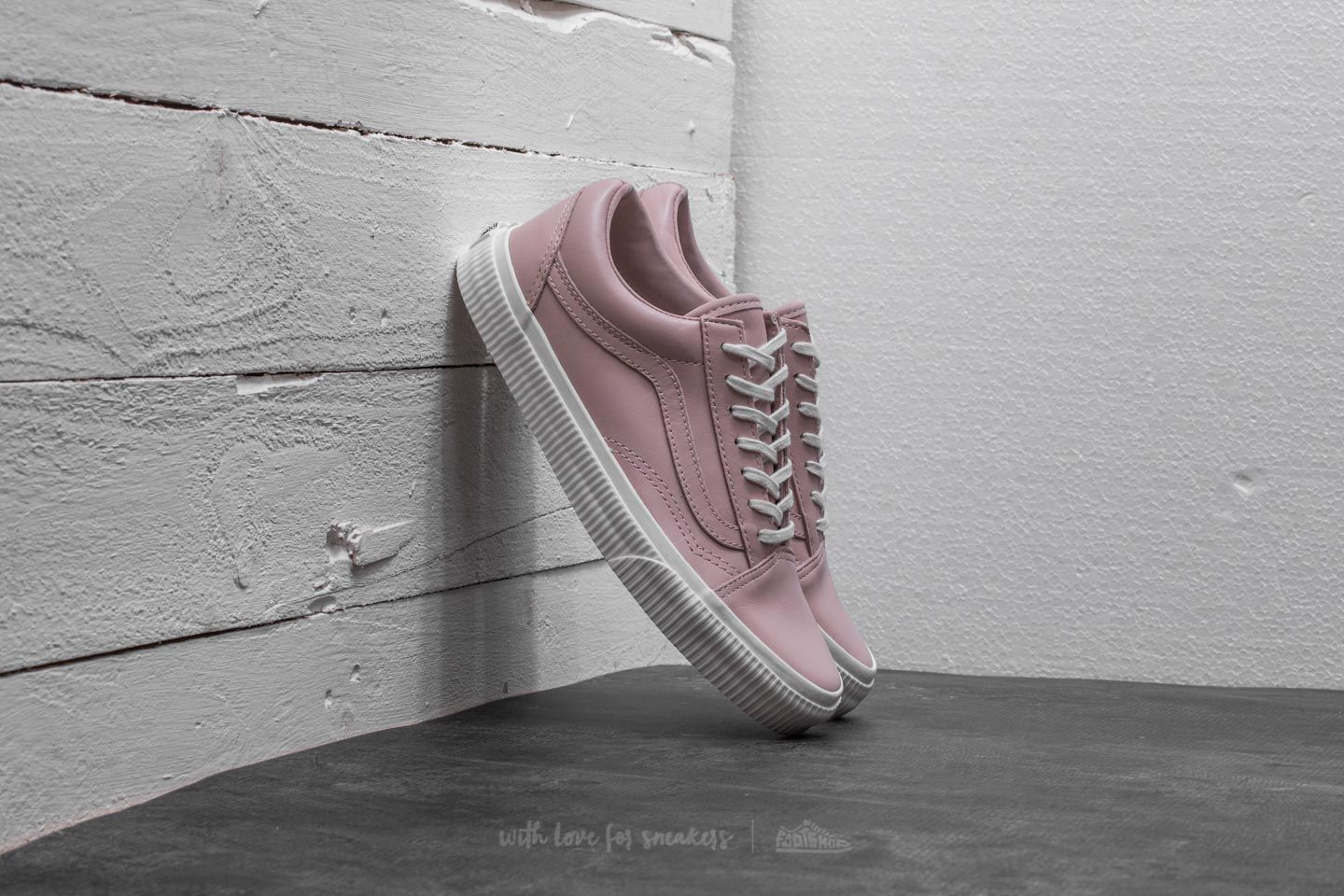 Vans Old Skool (Embossed Sidewall) Sepia Rose White | Footshop