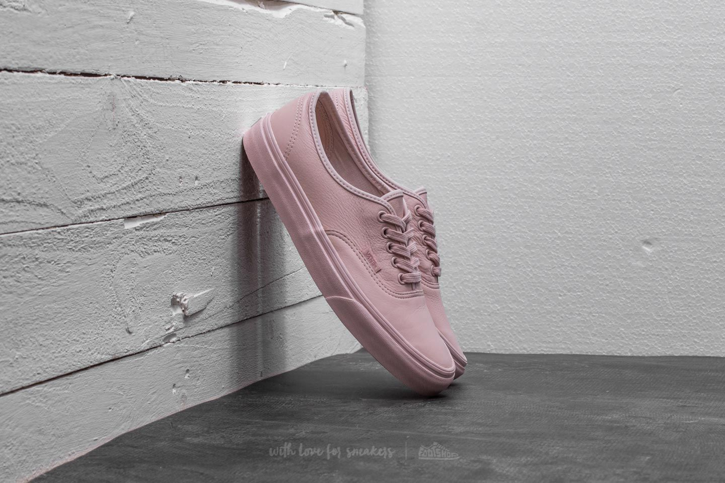 18d7f174180 Vans Authentic (Leather) Mono  Sepia Rose