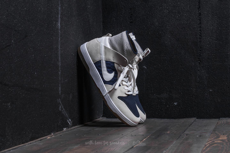 new style dcb99 6dcc1 Nike SB Zoom Dunk High Elite Sail/ Sail-Binary Blue   Footshop
