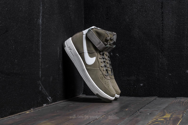 859025340116 Nike Air Force 1 Ultraforce Hi Dark Stucco  Summit White