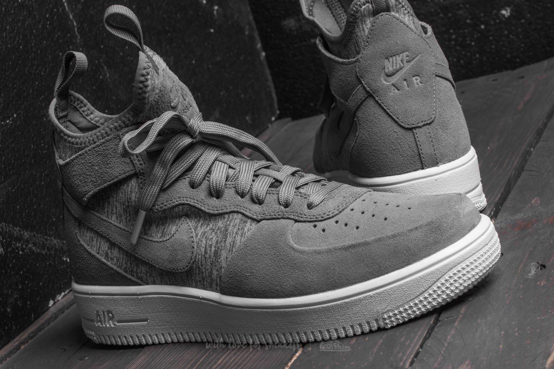 Educación tela Acostado  Nike Air Force 1 Ultraforce Mid Premium Cool Grey/ Cool Grey-White