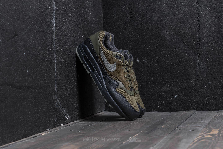 buy popular 75473 930f3 Nike Air Max 1 Premium. Medium Olive  Dark Stucco