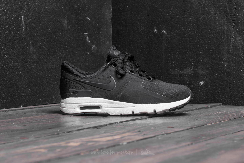Nike W Air Max Zero Premium Black Black Sail Dark Grey