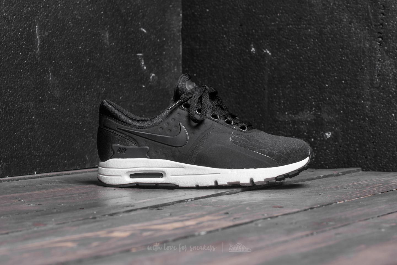 buy online c7831 8d5a6 Nike W Air Max Zero Premium Black Black-Sail-Dark Grey at a