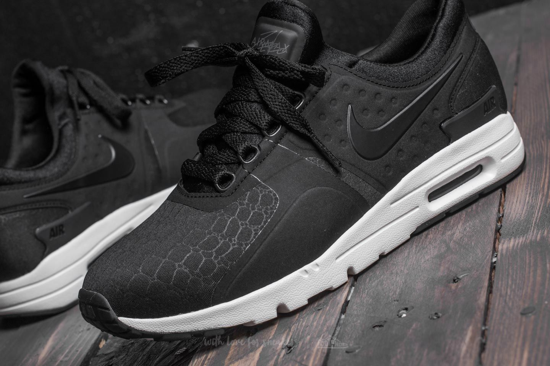 reputable site 5c754 55df3 Nike W Air Max Zero Premium Black/ Black-Sail-Dark Grey ...