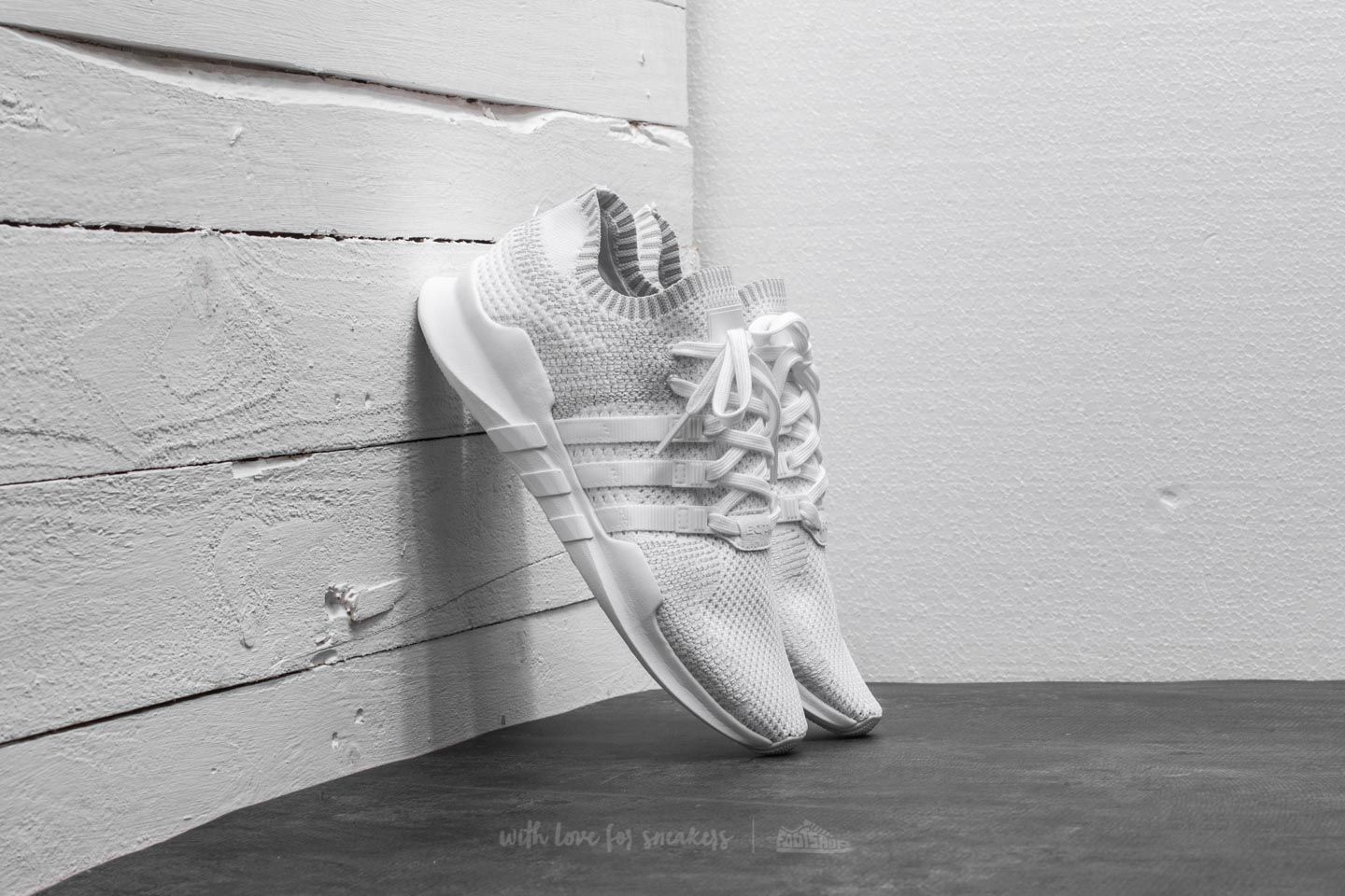timeless design 664eb d8fd0 adidas EQT Support ADV Primeknit Footwear White  Footwear White  Sub Green
