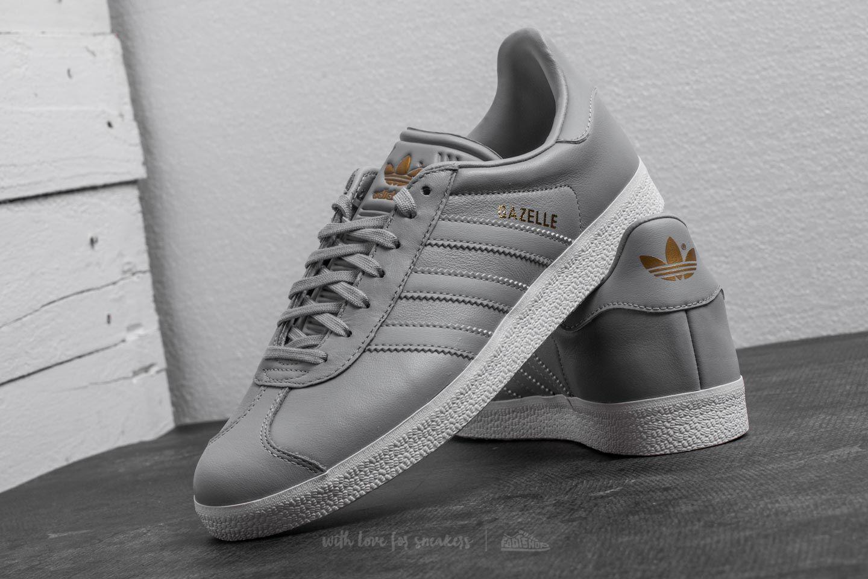 adidas Gazelle W Grey Two Grey Two Gold Metalic | Footshop