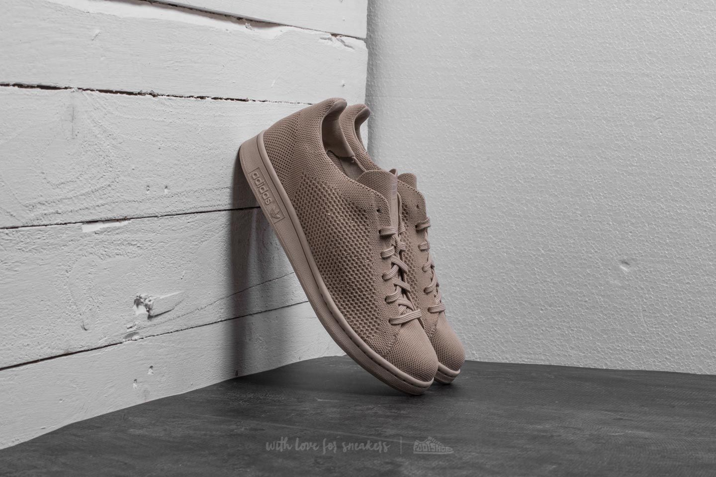 adidas Stan Smith Primeknit Clay Brown  Clay Brown  Clay Brown f554c8353