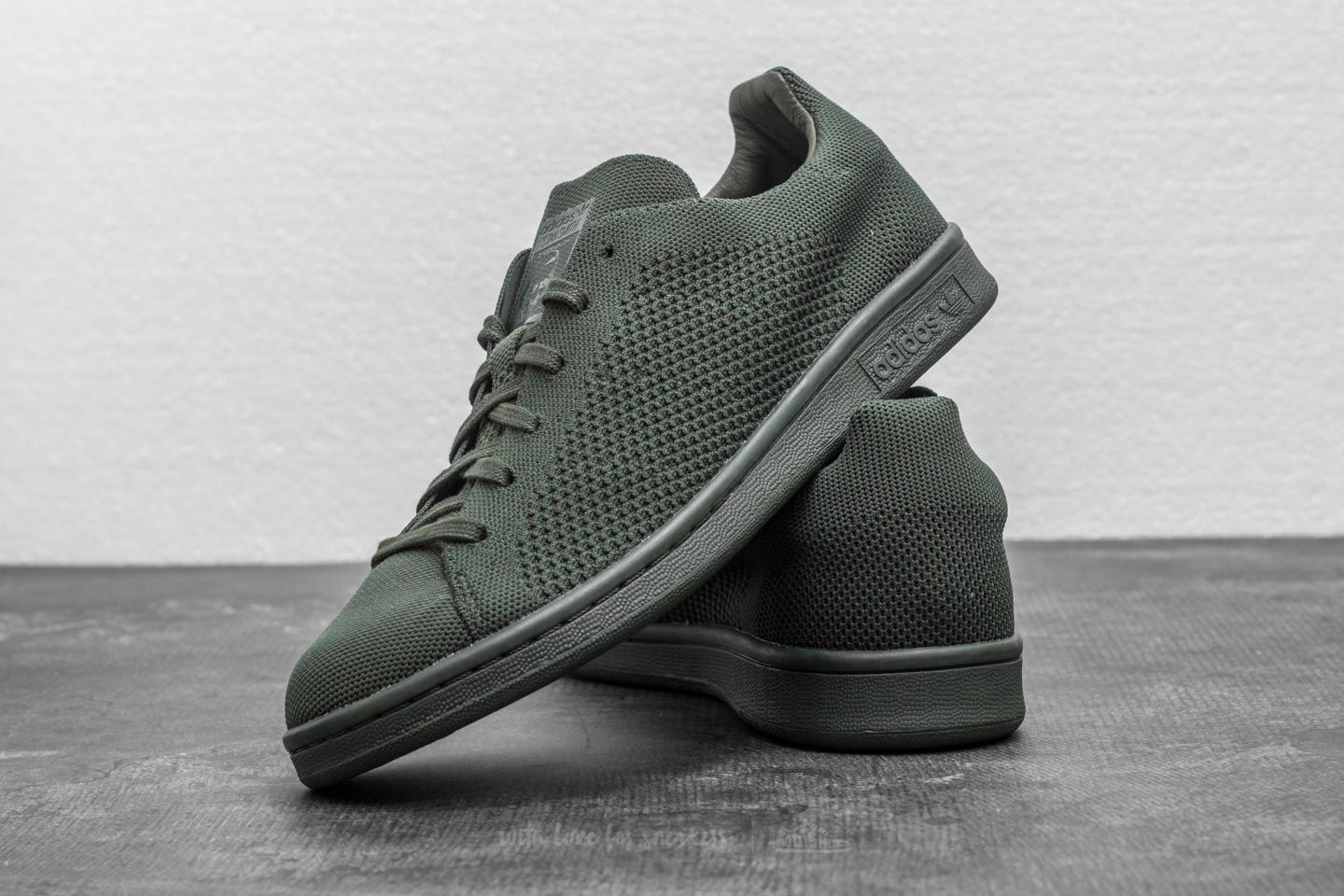 hot sale online order 100% high quality adidas Stan Smith Primeknit Night Cargo/ Night Cargo/ Night ...