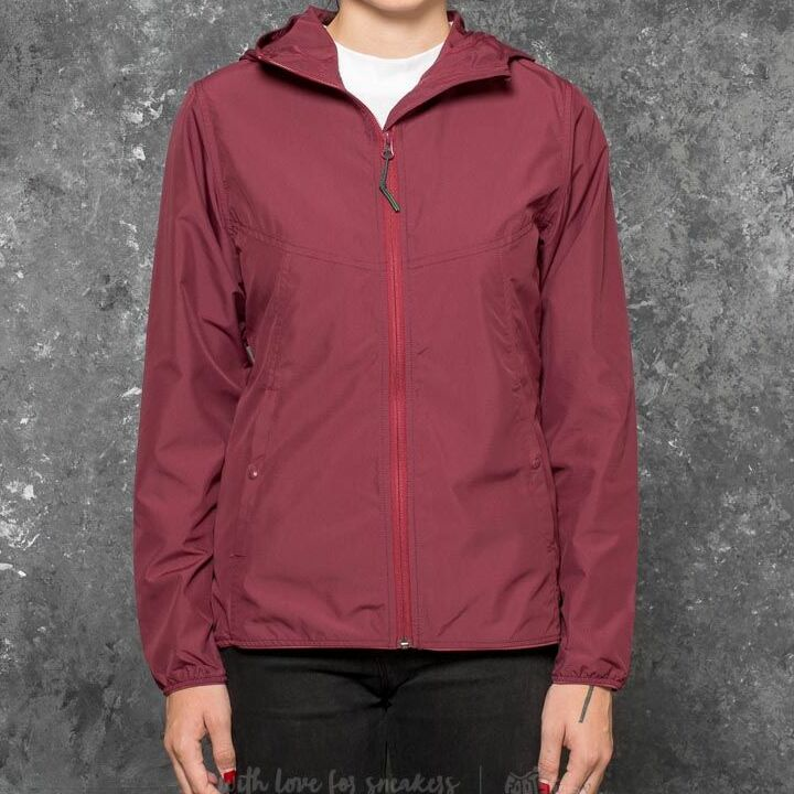 Herschel Supply Co. W Voyage Wind Jacket Windsor Wine, Red