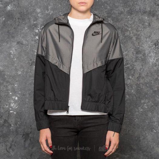 Nike Sportswear Windrunner Jacket Chambray Black | Footshop