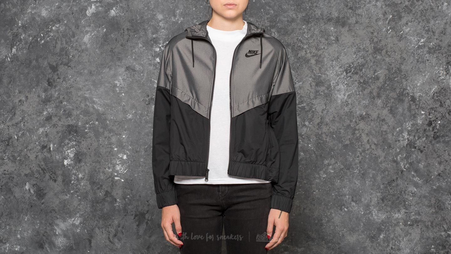 e7008ced351 Nike Sportswear Windrunner Jacket Chambray/ Black | Footshop
