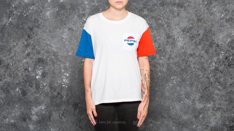 SWEET SKTBS Sweet Pepsi Fold Tee Red/ Blue/ White