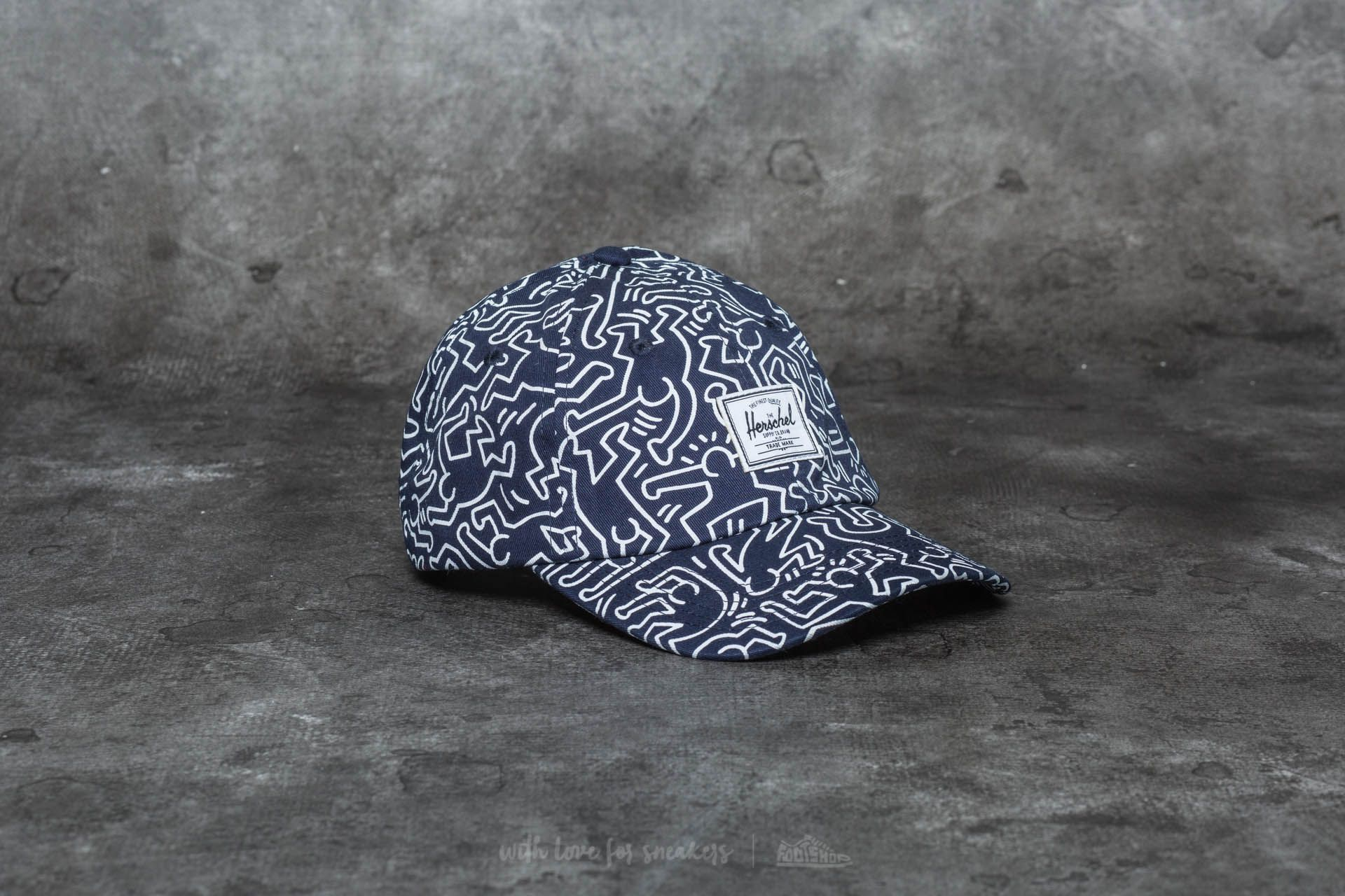 8fe76a3d7c0 Herschel Supply Co. Sylas Cap Peacoat Keith Haring