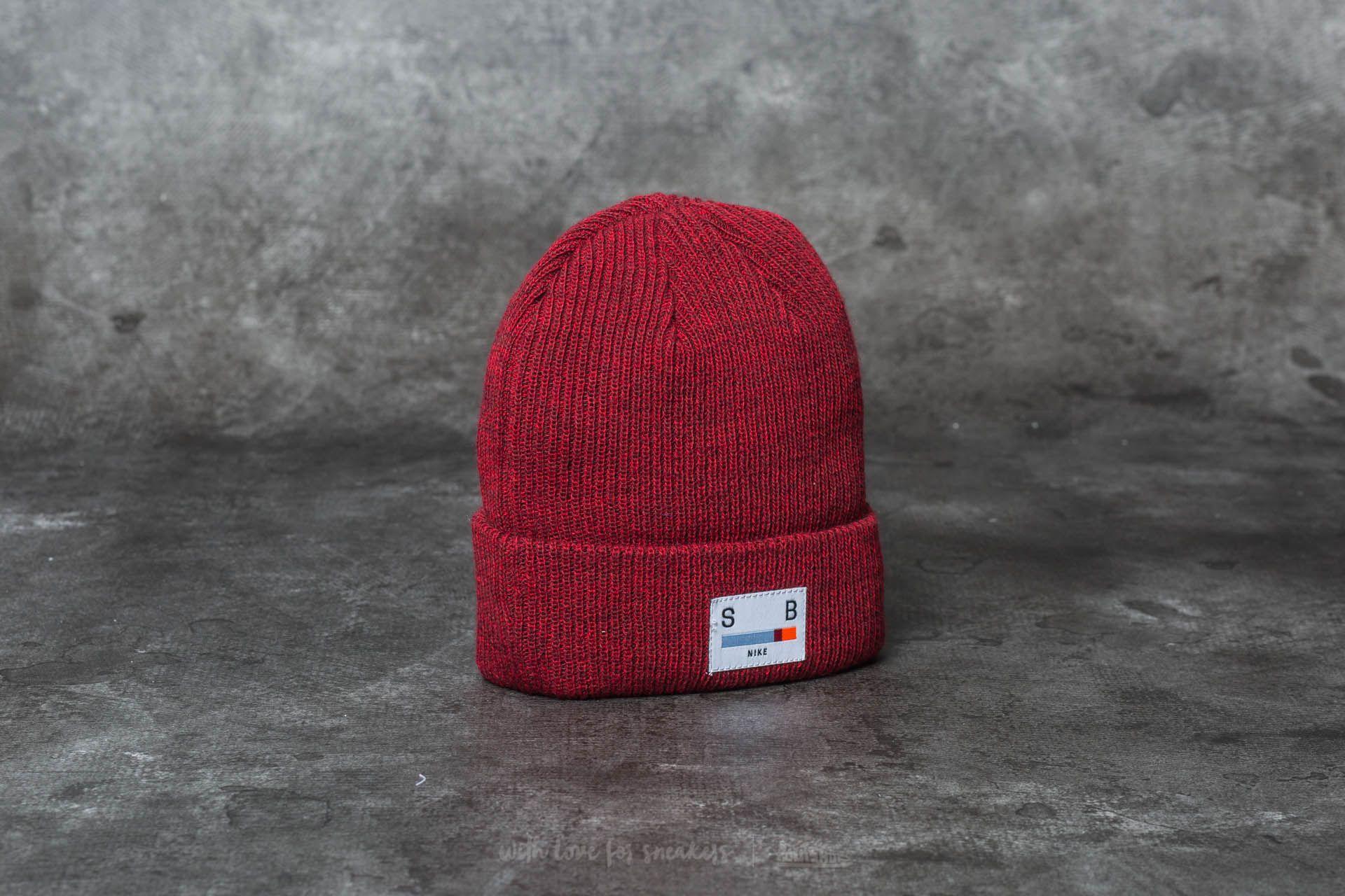 75d83735 Nike SB Surplus Beanie Dark Team Red/ Gym Red | Footshop