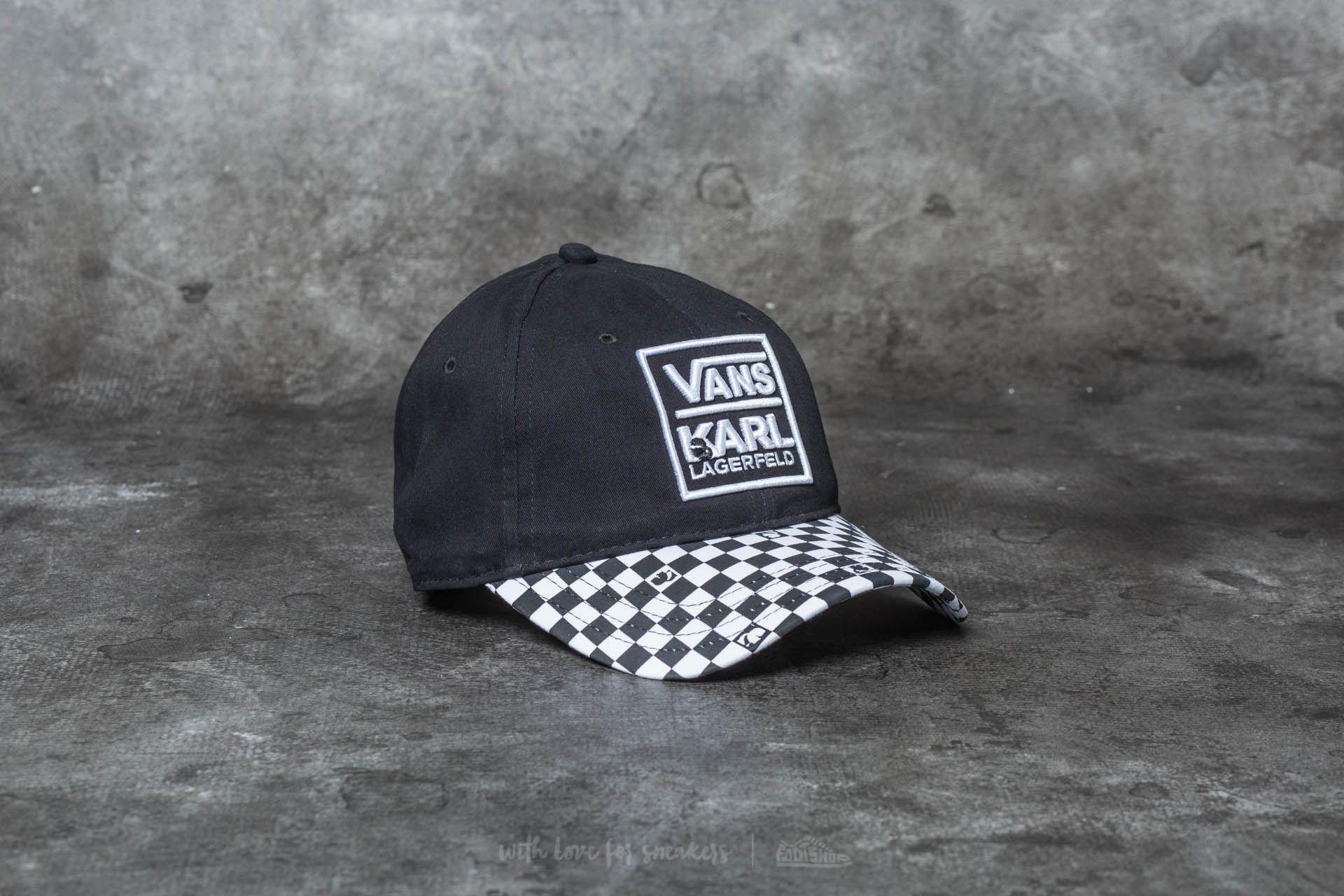 294f4ca44b14ee Vans x Karl Lagerfeld Dugout Hat Black | Footshop