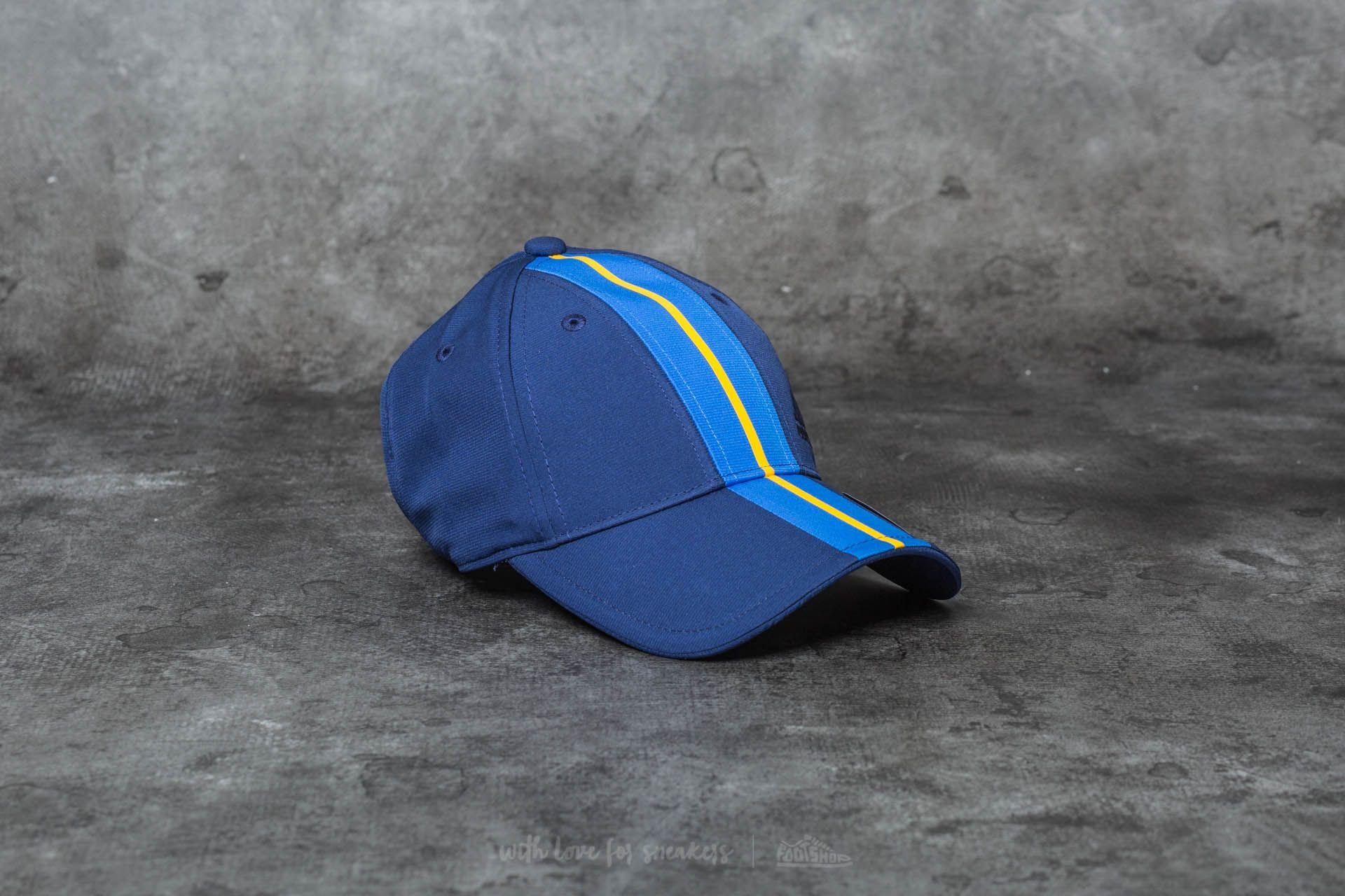 08bf478000a adidas New York Climalite Cap Dark Blue  Blue  Dark Blue