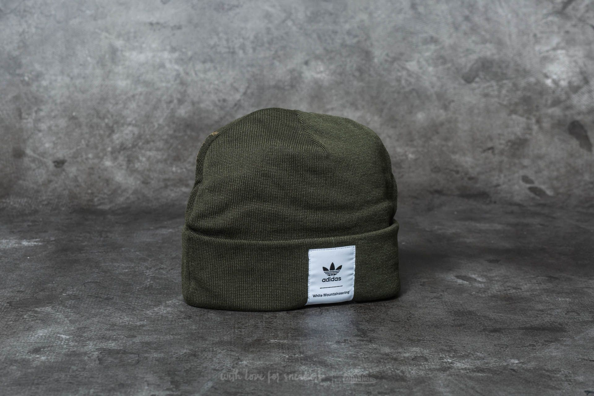 7afaf9afe43f1 adidas White Mountaineering Beanie Night Cargo | Footshop