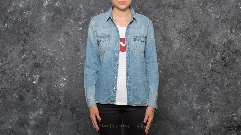 Levi's® Modern Western Shirt Seascape Light za skvělou cenu 1 270 Kč koupíte na Footshop.cz
