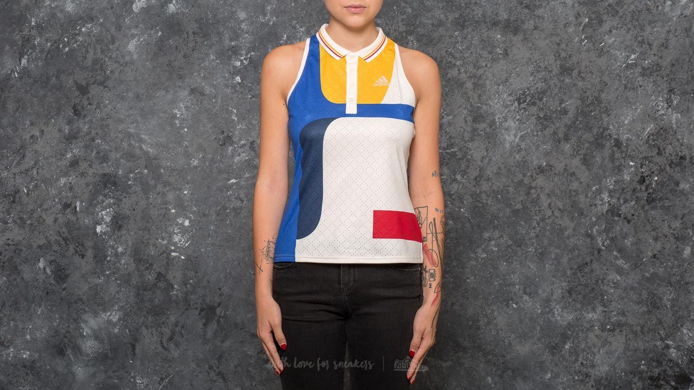 adidas New York Colorblock Tank Chalk White