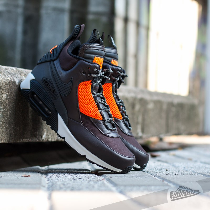 Nike Air Max 90 Sneakerboot Winter Brown Black  423475601