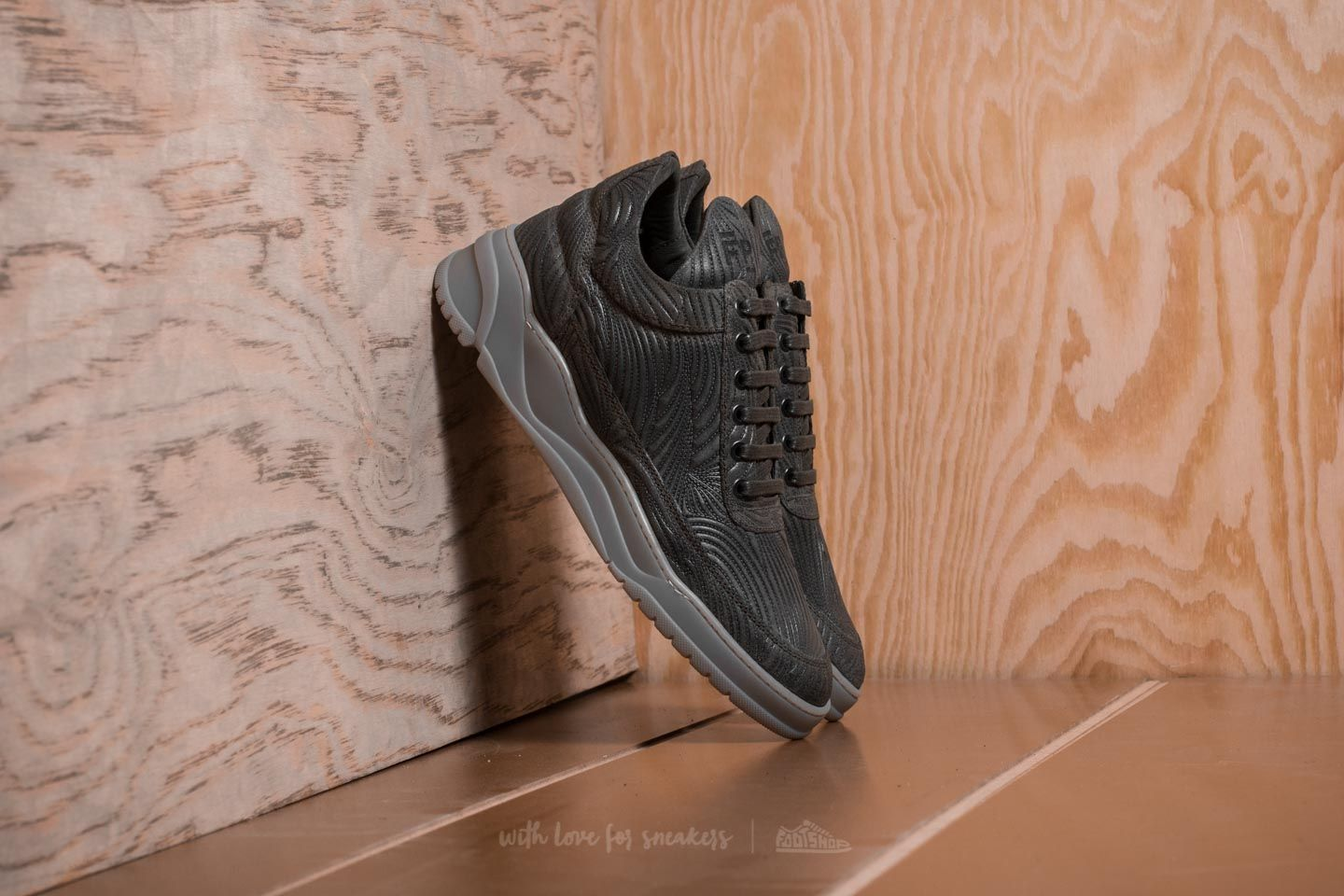Filling Pieces Low Top Astro Joichi Army Green