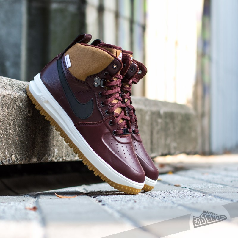 6226078afbdcaf Nike Lunar Force 1 Sneakerboot Barkroot Brown Black